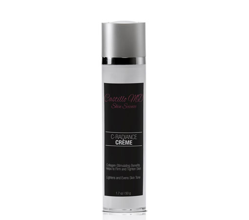 Bottle of c radiance creme by castillo md skin science