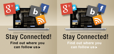 Stay Connected Find Out Where You Can Follow Us